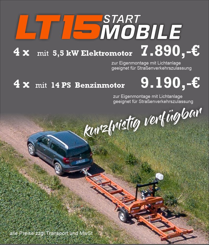 zur LT15 Start Mobil