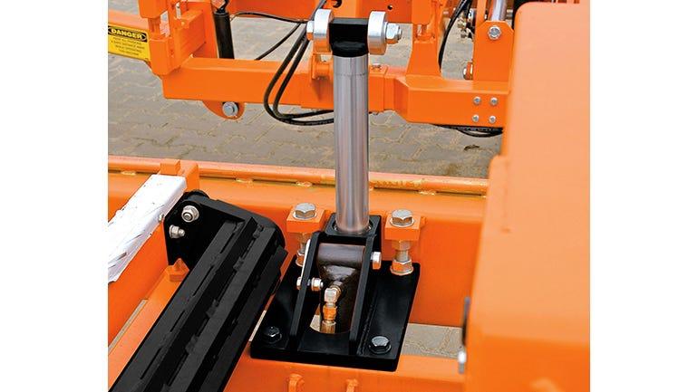 hydraulische Seitenstützen